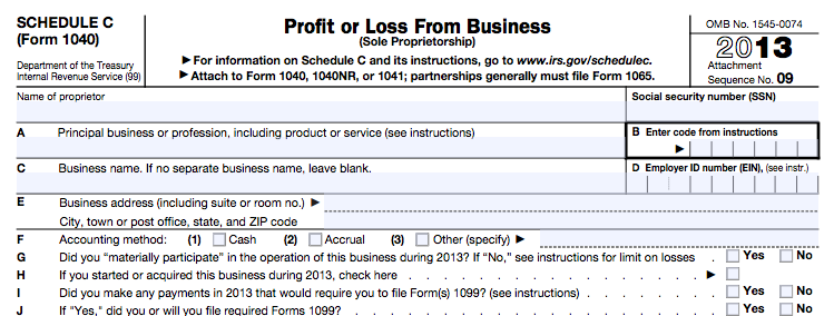 schedule-c-IRS-Form- screenshot